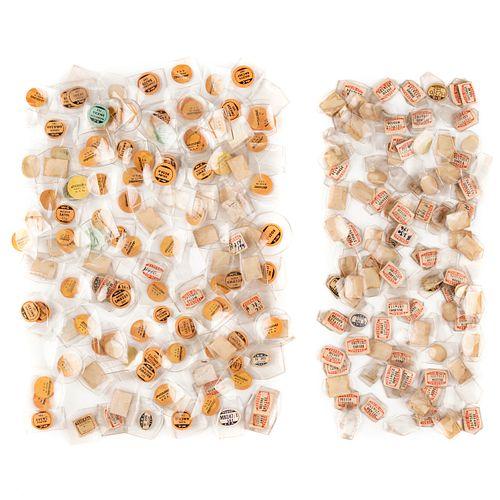 Grp: Vintage Watch Crystals Over Half Pound