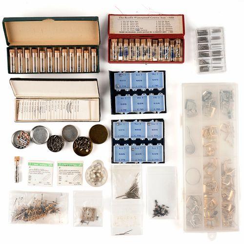 Grp: Assorted Vintage Watch Parts