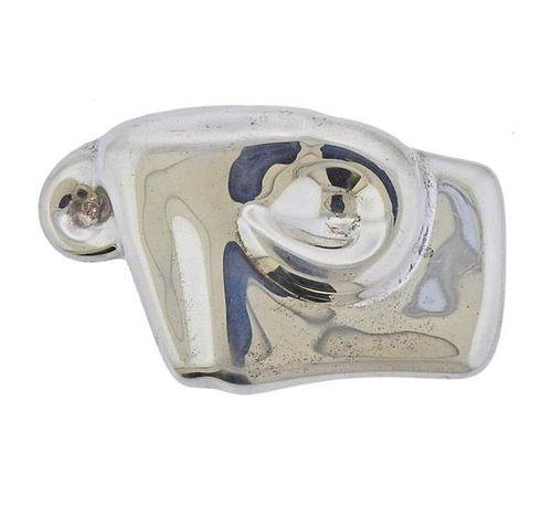 Tiffany & Co Elsa Peretti Silver Taurus Buckle