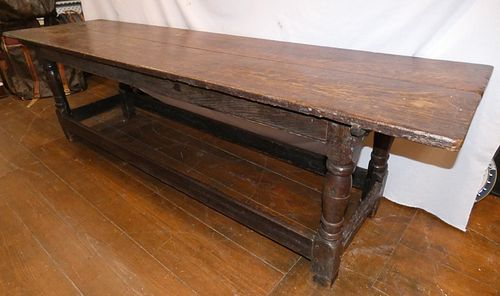 17TH CENTURY REFECTORY TABLE