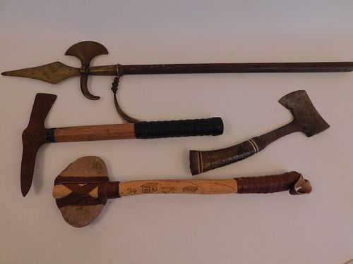4 MOSTLY INDIAN AXES