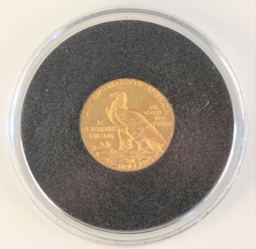1911 Indian 2 1/2 Gold.