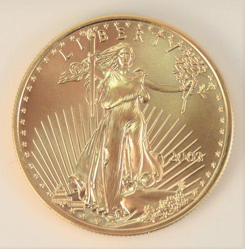 Gold Eagle, 2003, 1 oz.