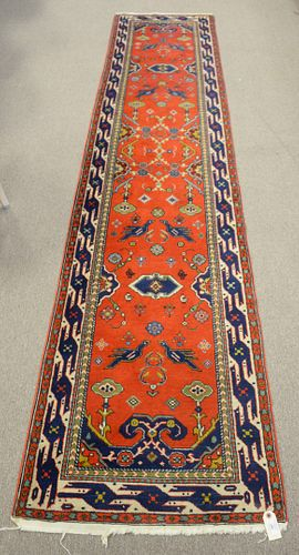 """Four Oriental Rugs, to include 3 scatter and 1 runner, 2' 4"""" x 11'; 4' 2"""" x 5'; 3' 4"""" x 6'; 3' x 5' 10"""". Provenance: From the Robert Circiello Collect"""
