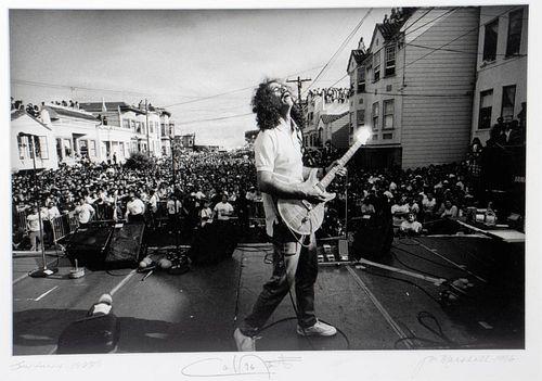 Jim Marshall photograph of Carlos Santana