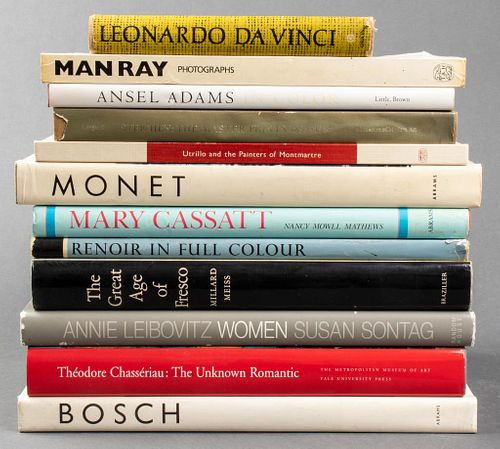 Group Of Books On Art And Photographs, 12