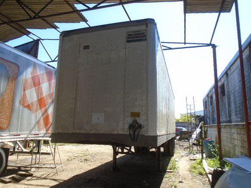 Remolque Caytrasa Caja Seca 2005