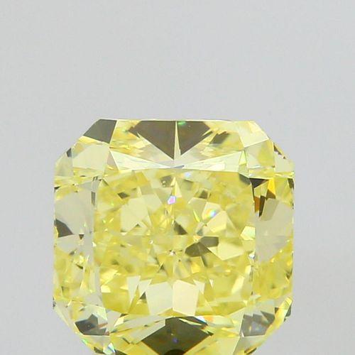 3.11 ct., Fancy Intense Yellow/VS1, Radiant cut diamond, unmounted, IM-20-090-15