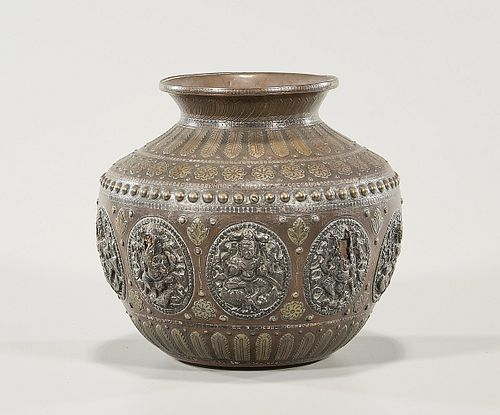 Southeast Asian Mixed-Metal Jar