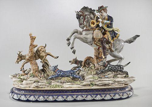 Antique Porcelain Group After Meissen