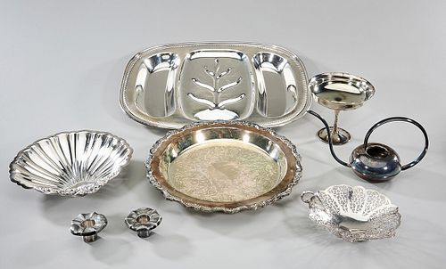 Group of Silver Plate Service Articles