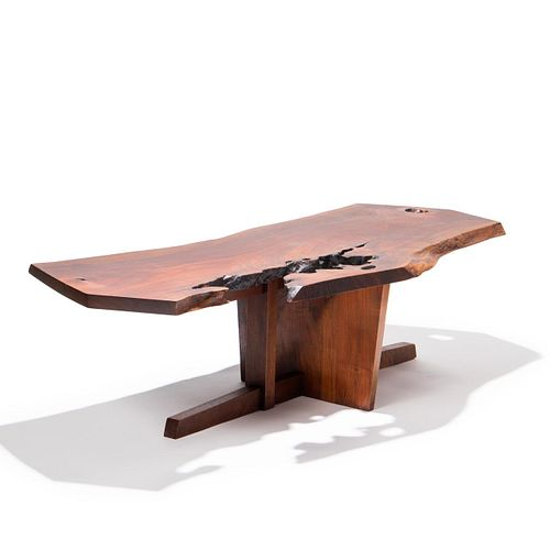 GEORGE NAKASHIMA WALNUT MINGUREN COFFEE TABLE