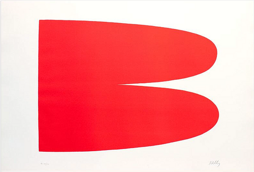 ELLSWORTH KELLY, Red-Orange (Rouge-Orange)