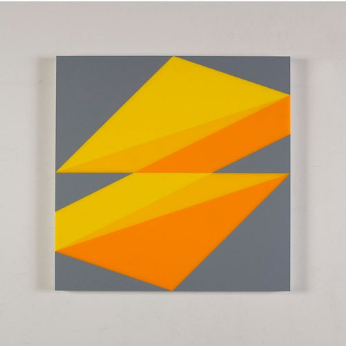 BRIAN ZINK, Composition in 2037 Yellow, 2465 Yellow, 2016 Yellow and 3001 Gray