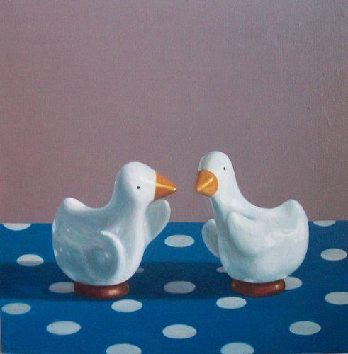MAUREEN O'CONNOR '81, Ducks on Dots