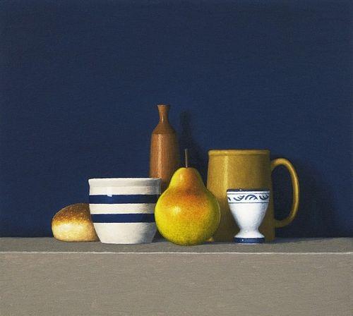 DAVID HARRISON, Still Life with Six objects