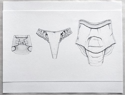 MIMI SMITH '63, Underpants Threesome