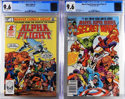 Marvel Comics Alpha Flight 1 Secret Wars 1 CGC 9.6