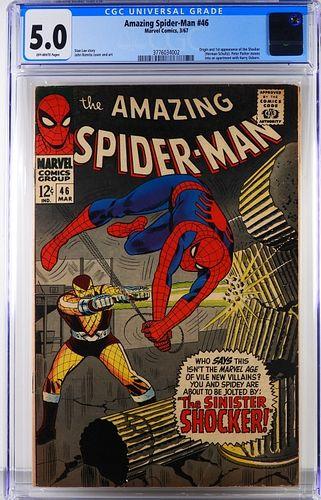 Marvel Comics Amazing Spider-Man #46 CGC 5.0