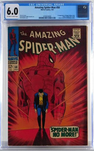 Marvel Comics Amazing Spider-Man #50 CGC 6.0