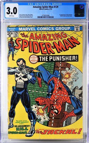 Marvel Comics Amazing Spider-Man #129 CGC 3.0