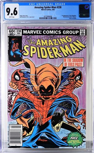 Marvel Comics Amazing Spider-Man #238 CGC 9.6 News