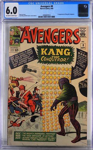 Marvel Comics Avengers #8 CGC 6.0