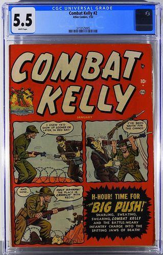 Atlas Comics Combat Kelly #2 CGC 5.5