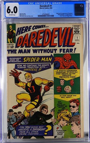 Marvel Comics Daredevil #1 CGC 6.0