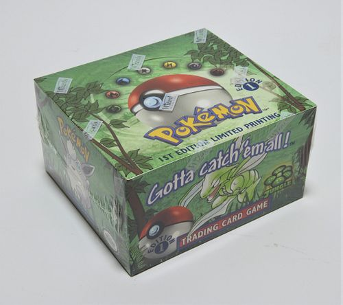 Pokemon Jungle 1st Ed. Booster Box Factory Sealed