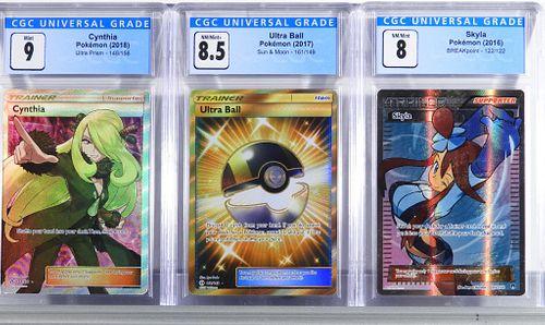 3 Pokemon BREAKpoint Sun Moon Ultra Prism Trainer