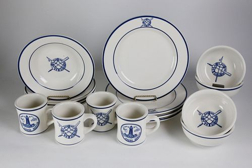 U.S. Life Saving Services Reproduction Mess Hall Breakfast Service