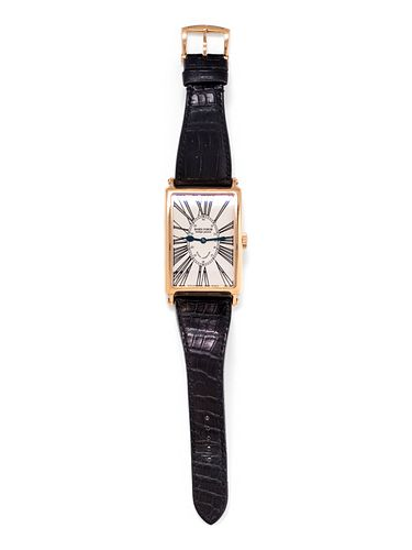 ROGER DUBUIS, 18K PINK GOLD REF. 3225 LIMITED EDITION 'MUCHMORE' WRISTWATCH