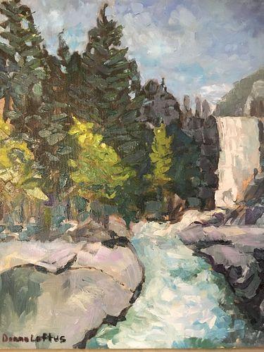 Donna Loftus Waterfall in Yosemite
