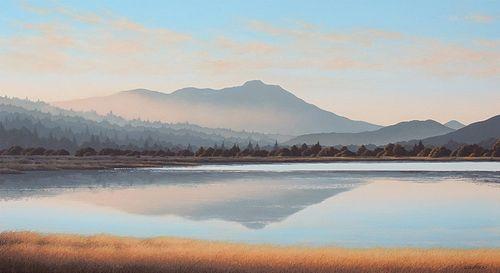 Kathleen Lipinski Mt. Tamalpais from Richardson Bay
