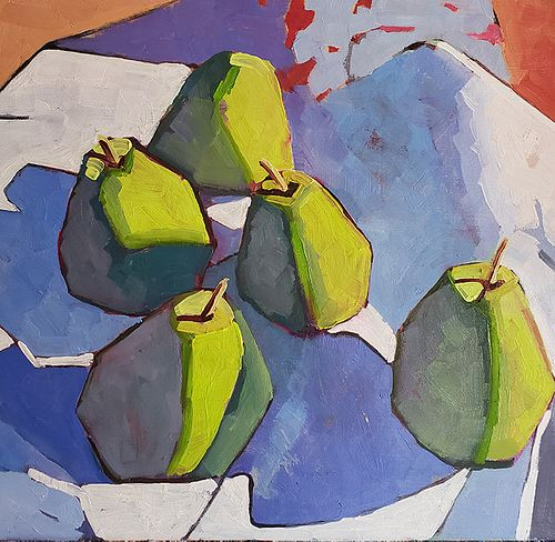Patti Titman Mid Century Morning Pears