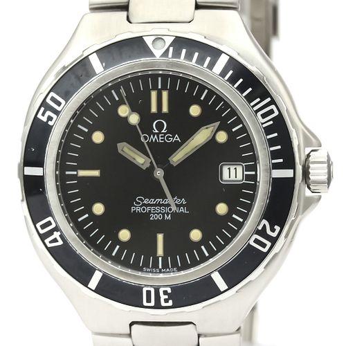 Omega Seamaster Quartz Stainless Steel Men's Sports Watch 396.1052 BF521953
