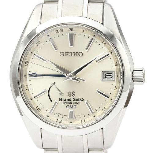 Seiko Grand Seiko Spring Drive Stainless Steel Men's Dress Watch SBGE005(9R66 AC0) BF525862
