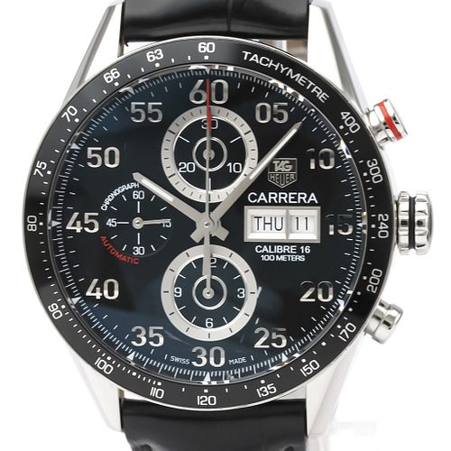 Tag Heuer Carrera Automatic Stainless Steel Men's Sports Watch CV2A10 BF526564