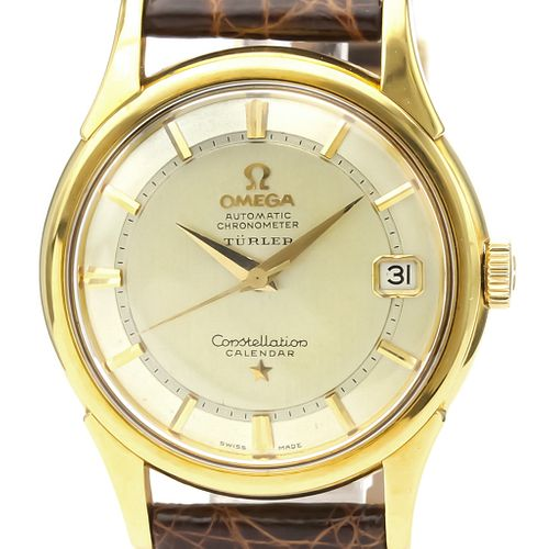 Omega Constellation Automatic Yellow Gold (18K) Men's Dress Watch 14393 BF527421