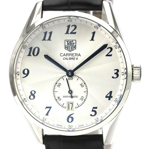Tag Heuer Carrera Automatic Stainless Steel Men's Sports Watch WAS2111 BF527432