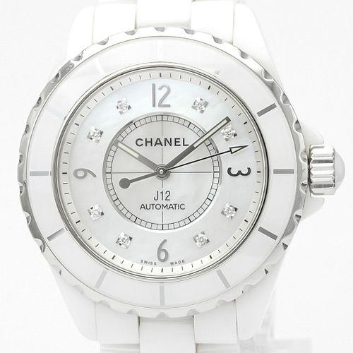 Chanel J12 Automatic Ceramic Men's Sports Watch H2423 BF527465