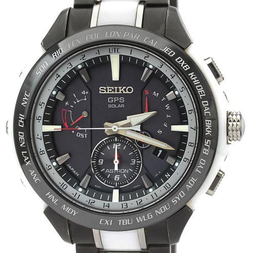 Seiko Astron GPS Solar Ceramic,Titanium Men's Sports Watch SBXB071(8X53-0AG0) BF527492