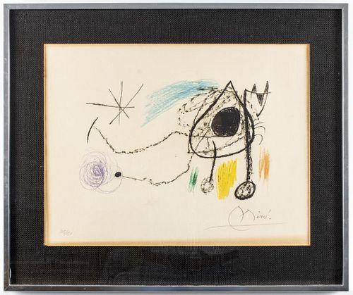 """Joan Miro """"Sobreteixims i Escultures"""" Lithograph"""