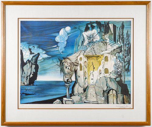 "Salvador Dali ""Mad Tristan"" Lithograph, 1981"