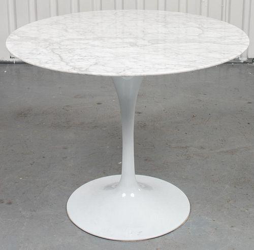 "Eero Saarinen ""Tulip"" Marble Top Dining Table"