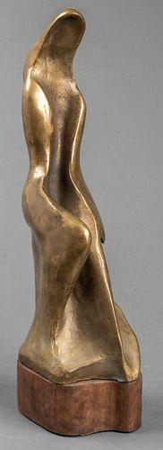 Constance Barnard Pach Modern Bronze Sculpture