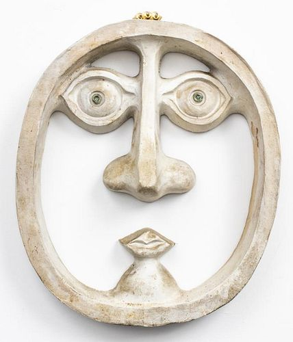 David Gil for Bennington Potters Pottery Mask