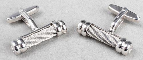 Philippe Charriol Designer Cylinder Cufflinks