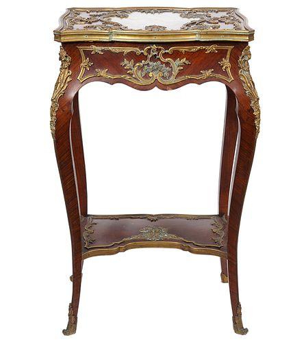 Maison Millet 19th C. Louis XV Style Table